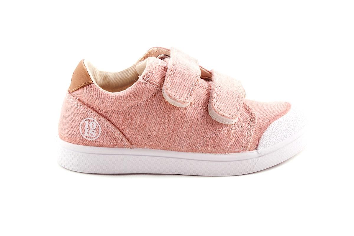 Sneaker Roze Laag Velcro