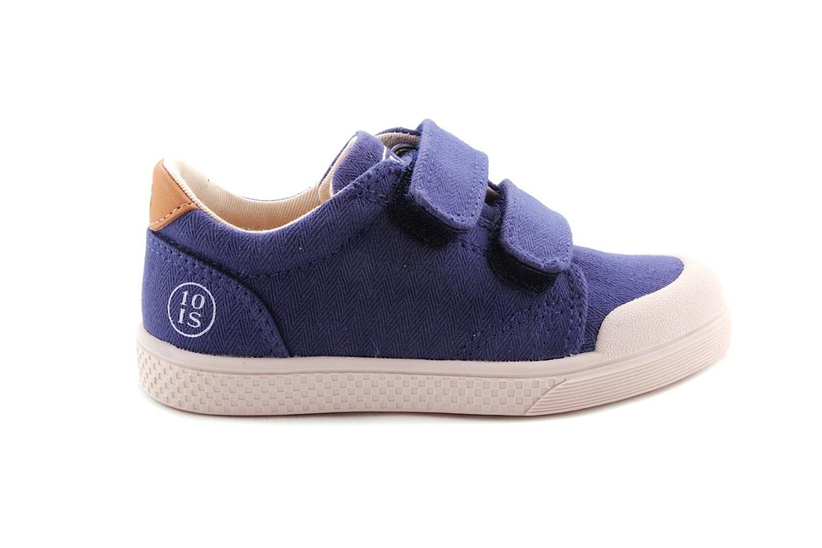 Sneaker Blauw Laag Velcro