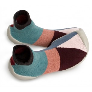 Pantoffel Geometric Style