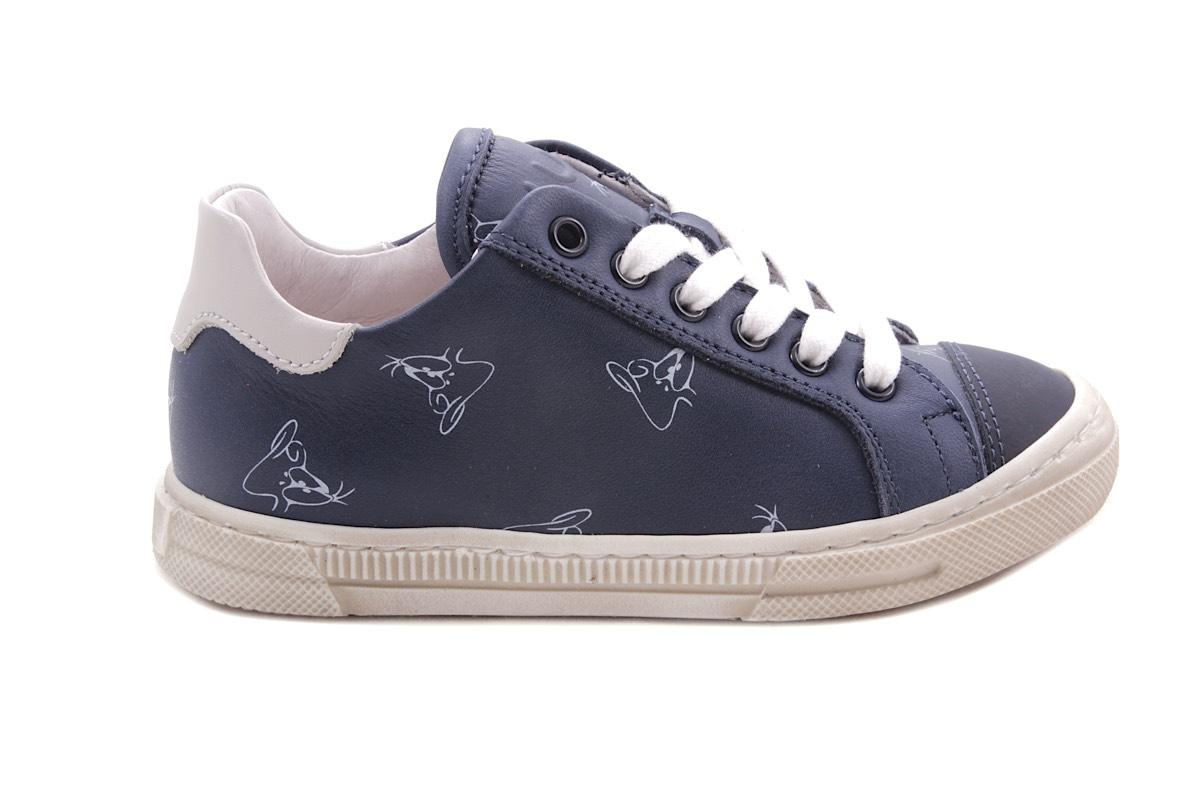 Luca sneaker donkerblauw donald