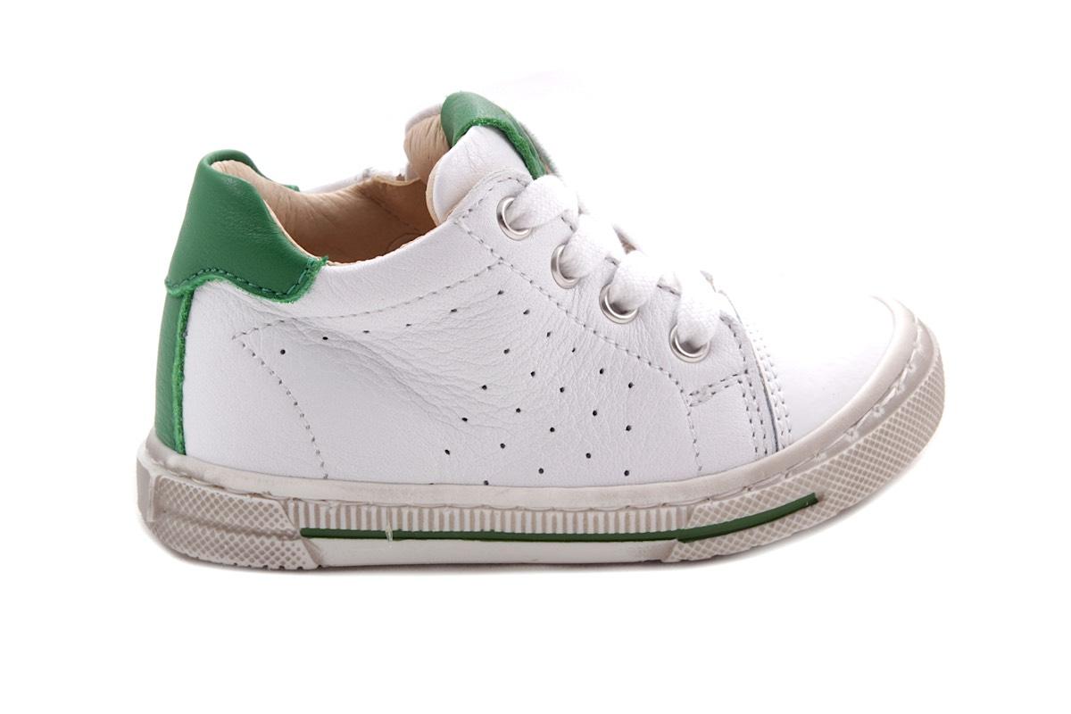 Luca sneaker wit groen