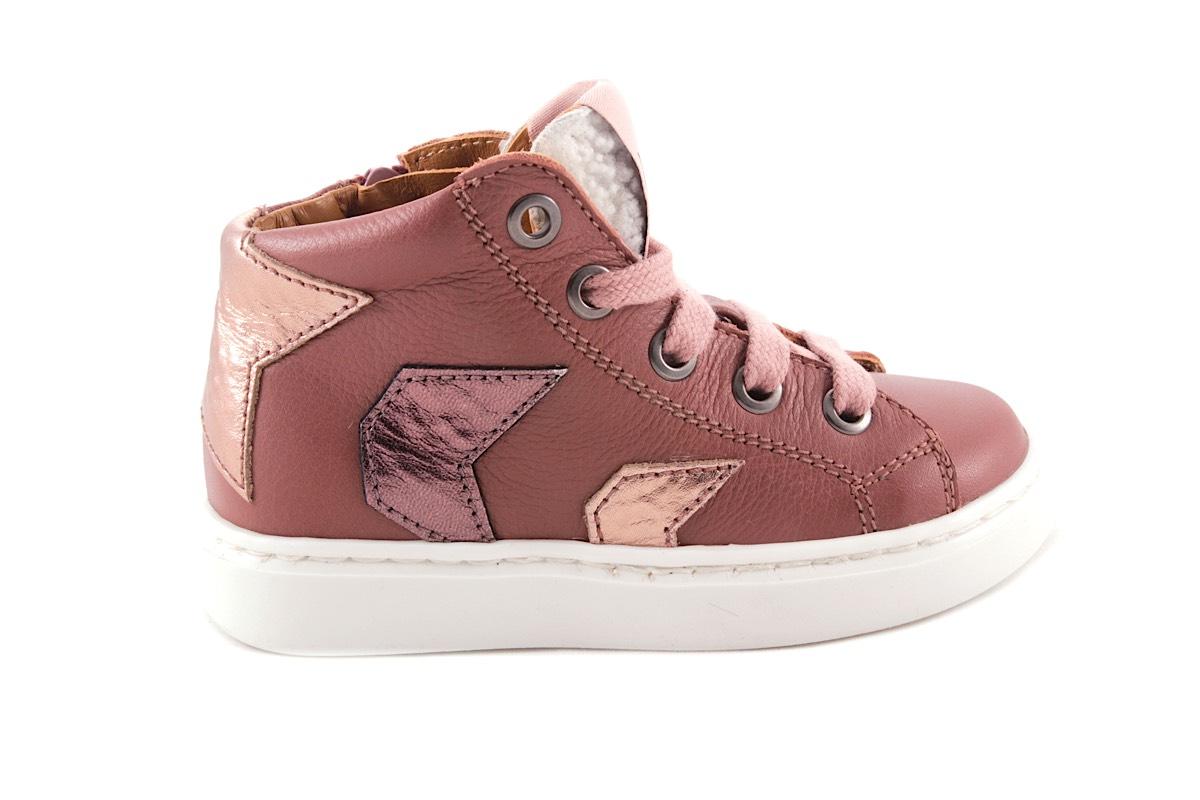 Sneaker Oudroze 2 strepen