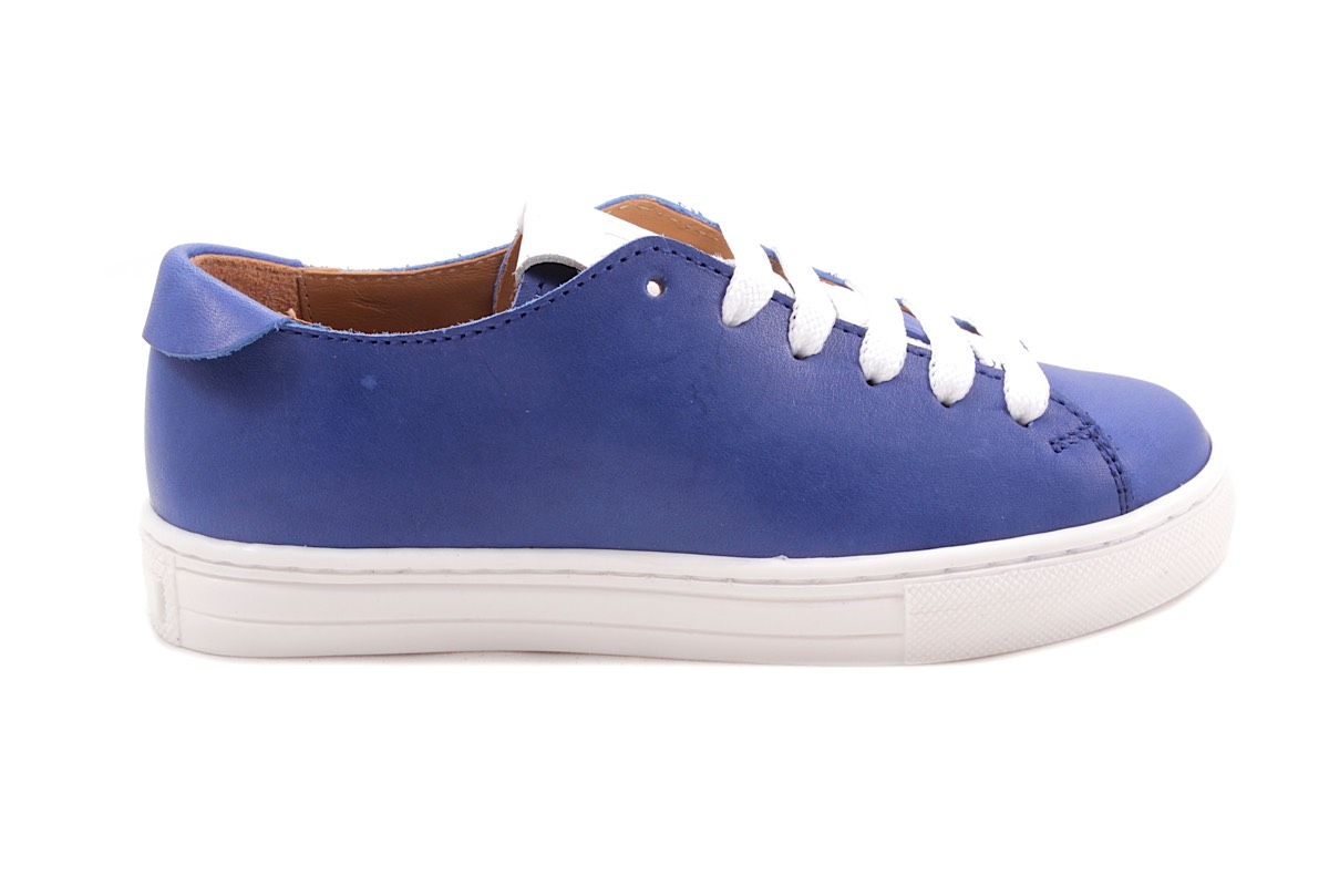 Sneaker Blauw  Laag Veter