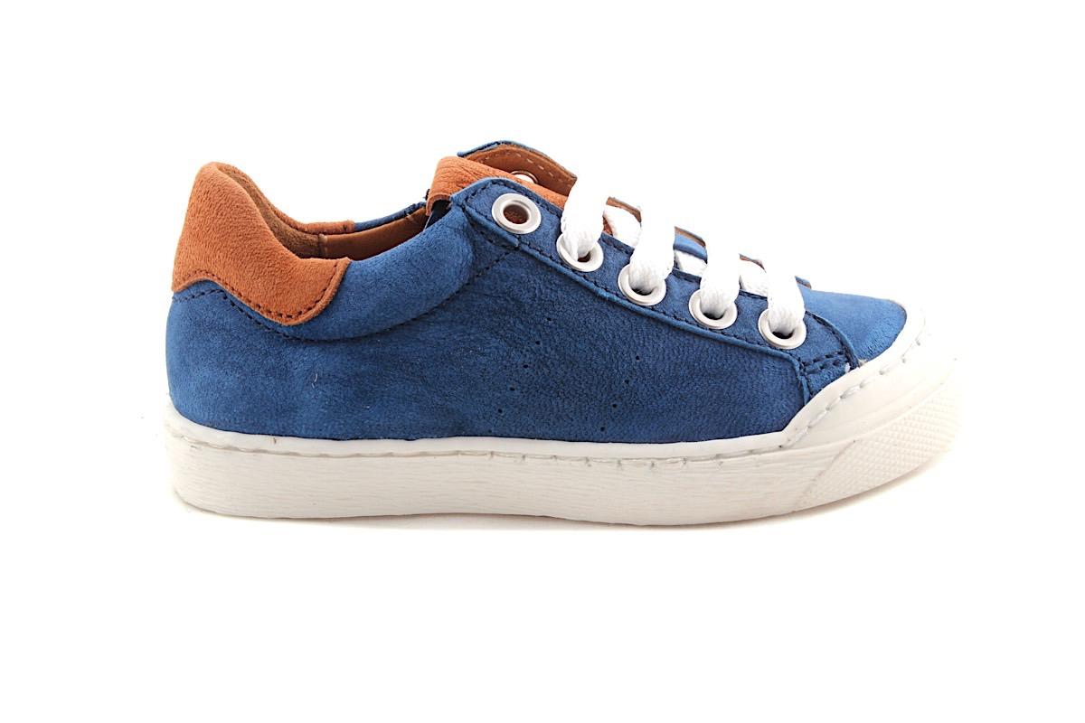 Sneaker Rubber Tip Blauw
