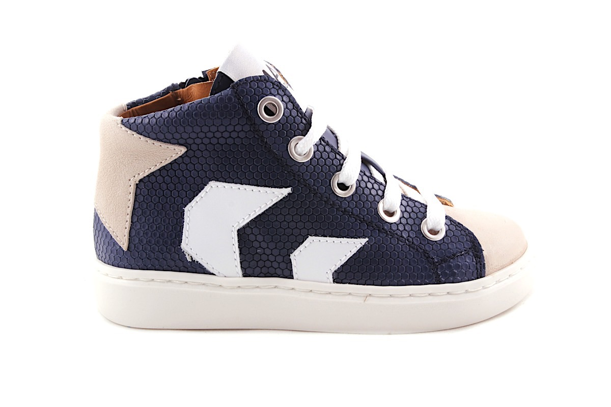 Sneaker Halfhoog Blauw