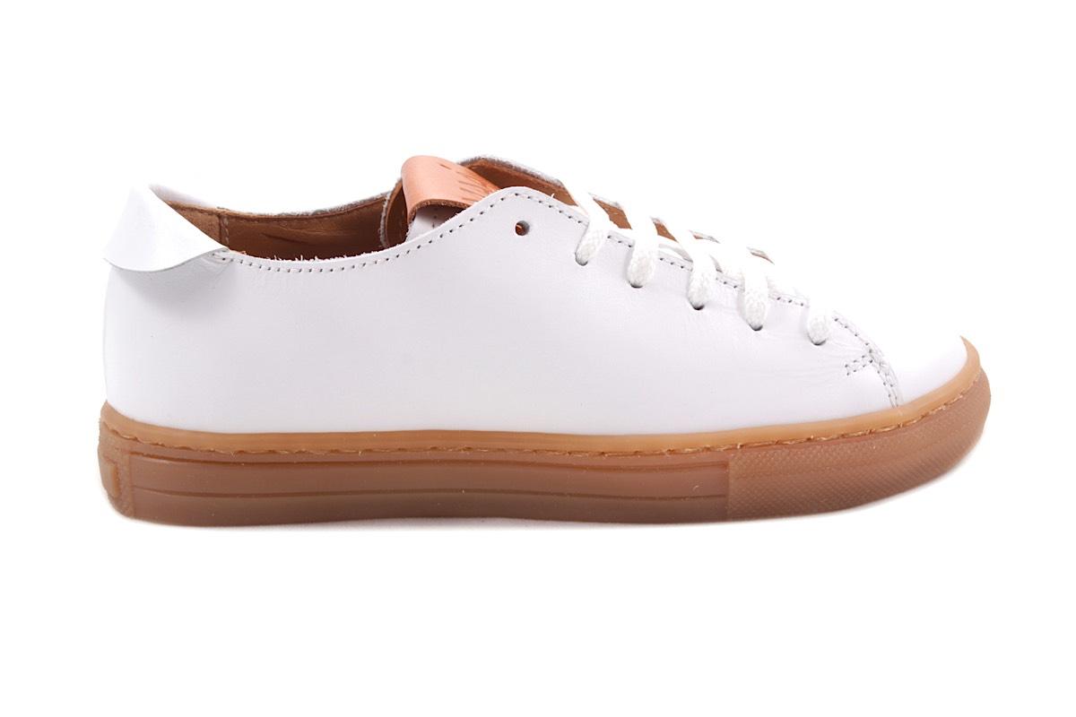 Sneaker Wit Laag Veter