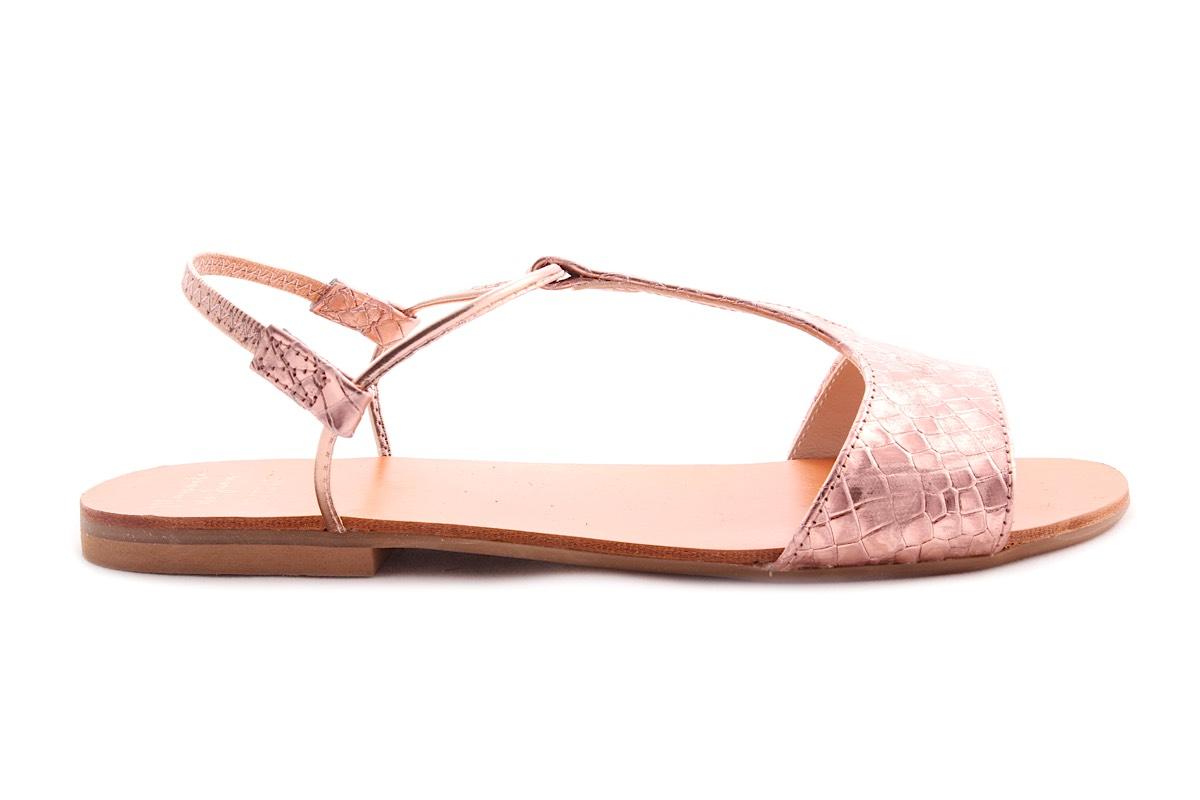 manuela de juan sandaal roze