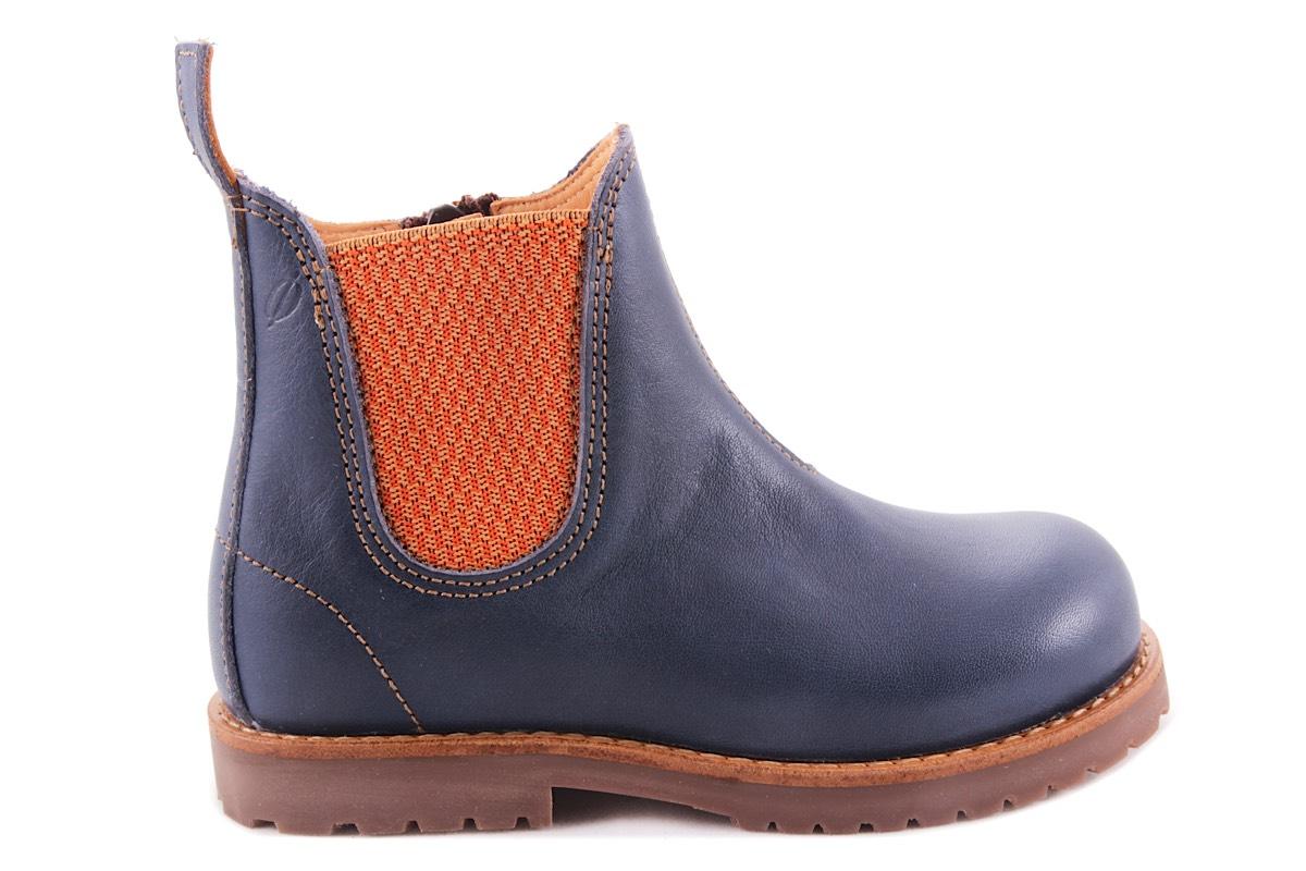 Laars Blauw Met Oranje Elastiek