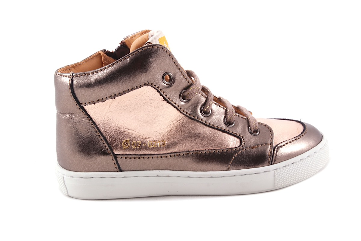 Sneaker Metallic Goud  En Rose Metallic
