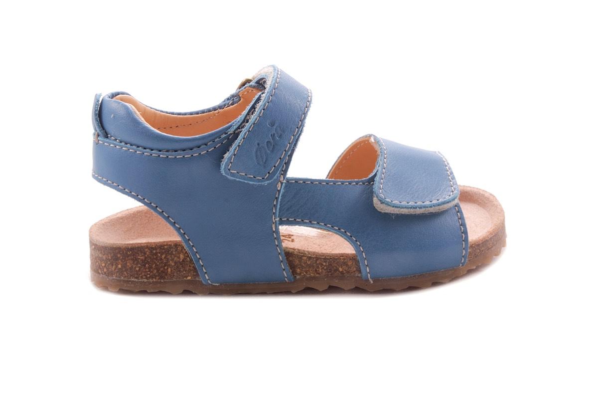 Sandaal Blauw Kurkzool