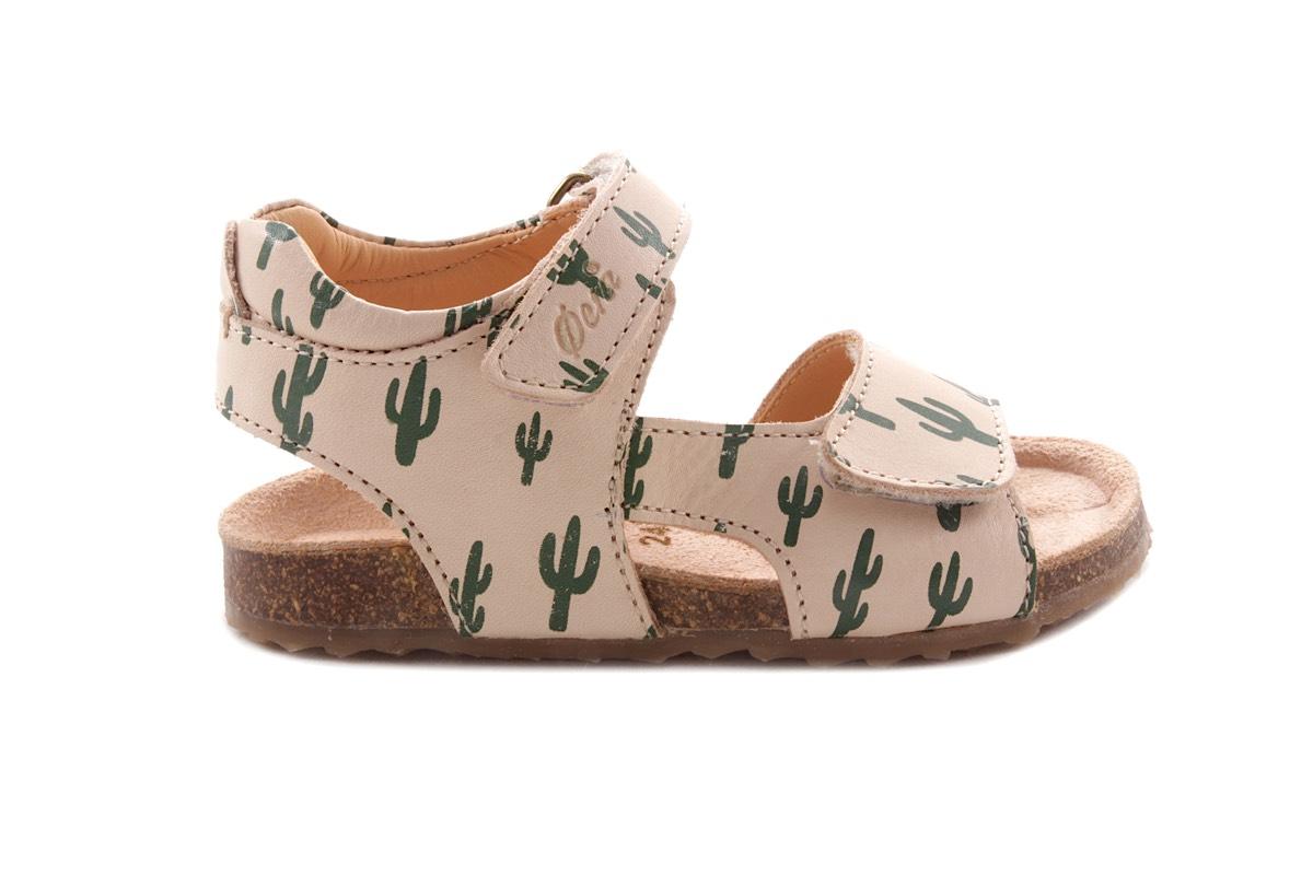 Sandaal Groen Cactus Kurkzool