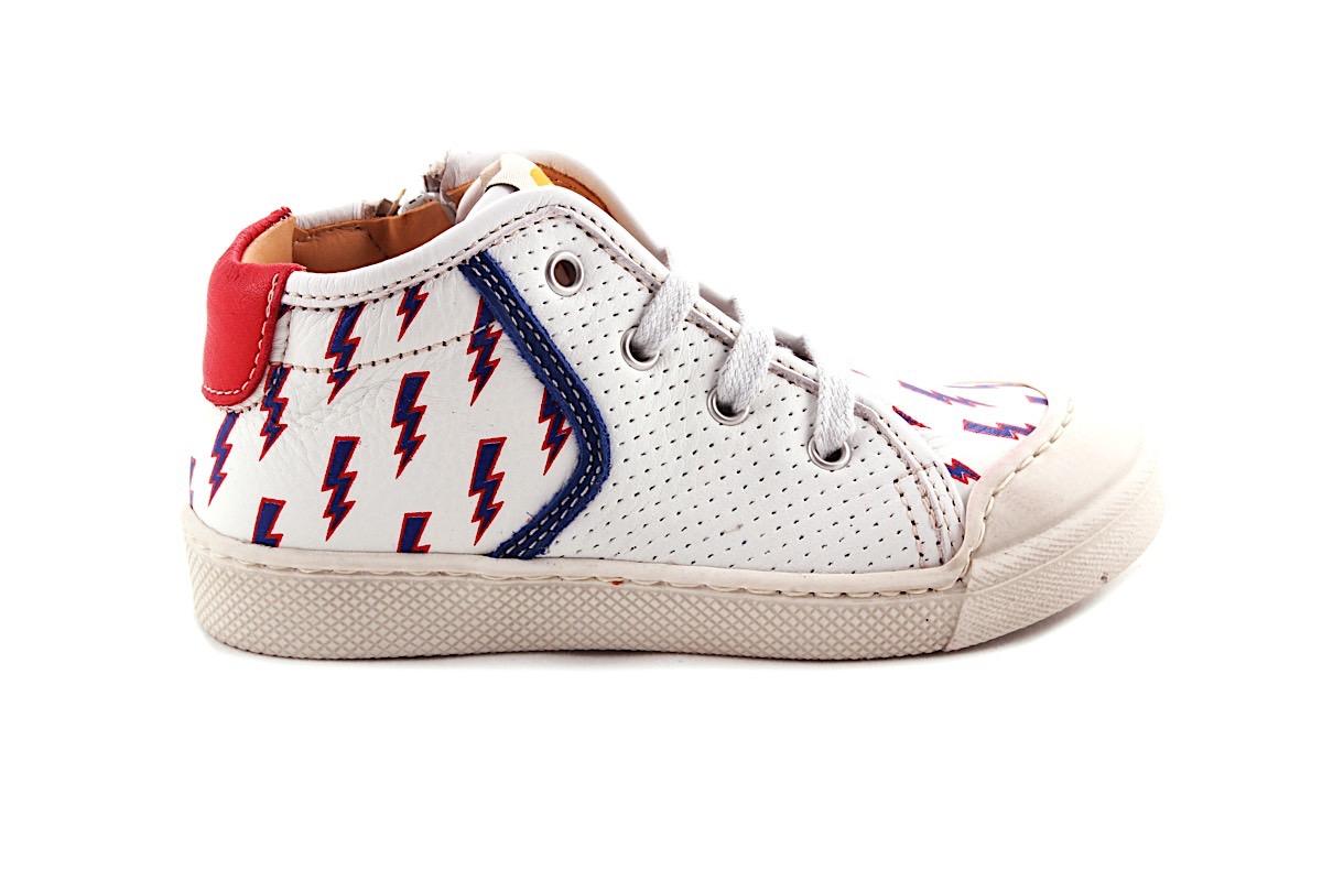Sneaker Sportief Wit Bliksem