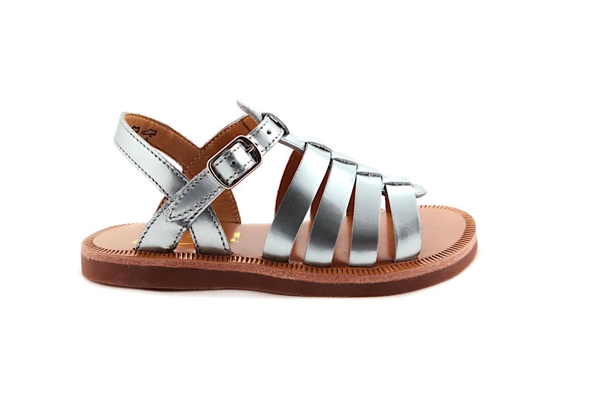 Sandaal Gladiator Mint Metallic