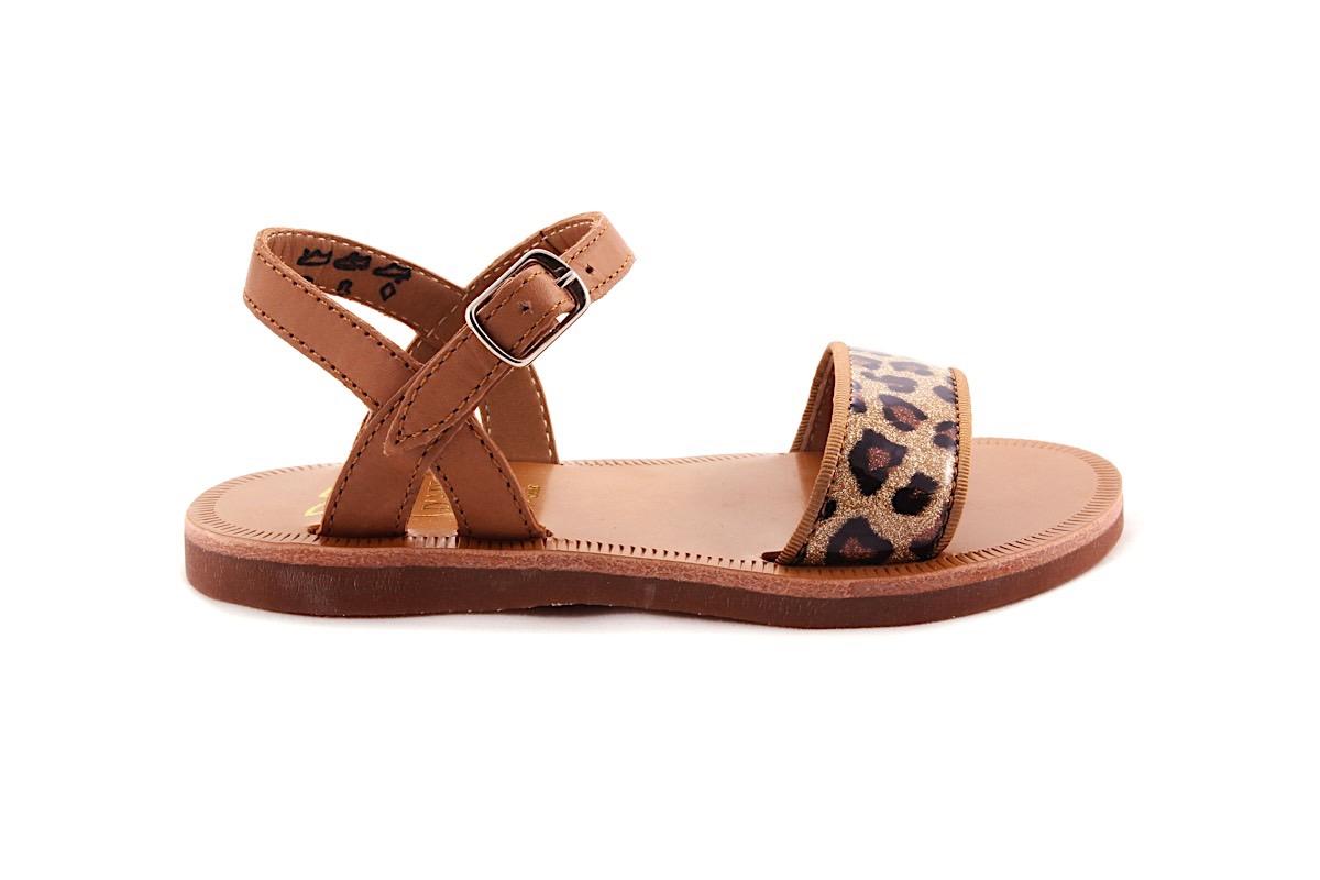 Sandaal  Dierenprint