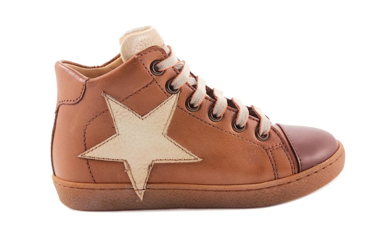 Sneaker Cognac Grote Ster