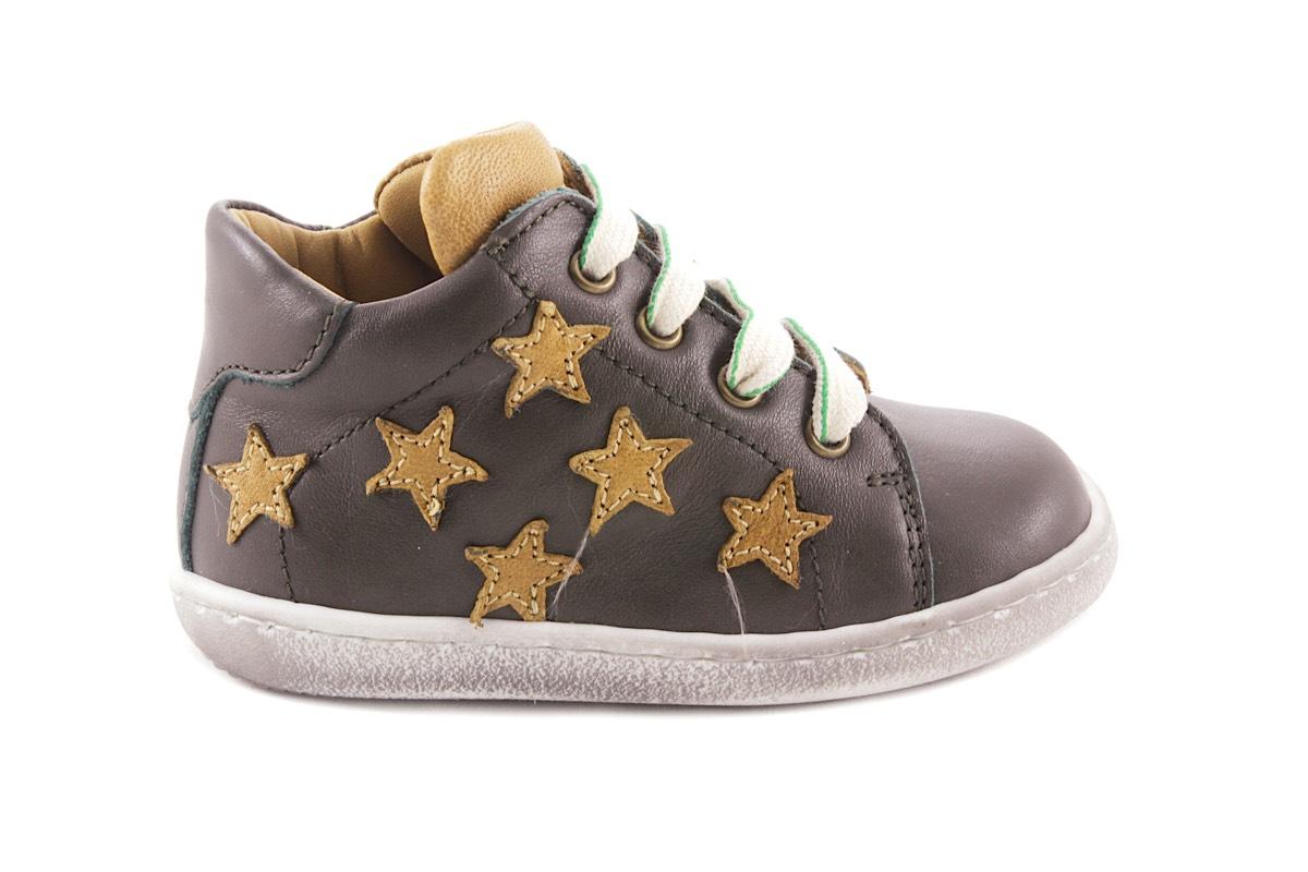 Zecchino d'oro sneaker klein kaki oker sterren