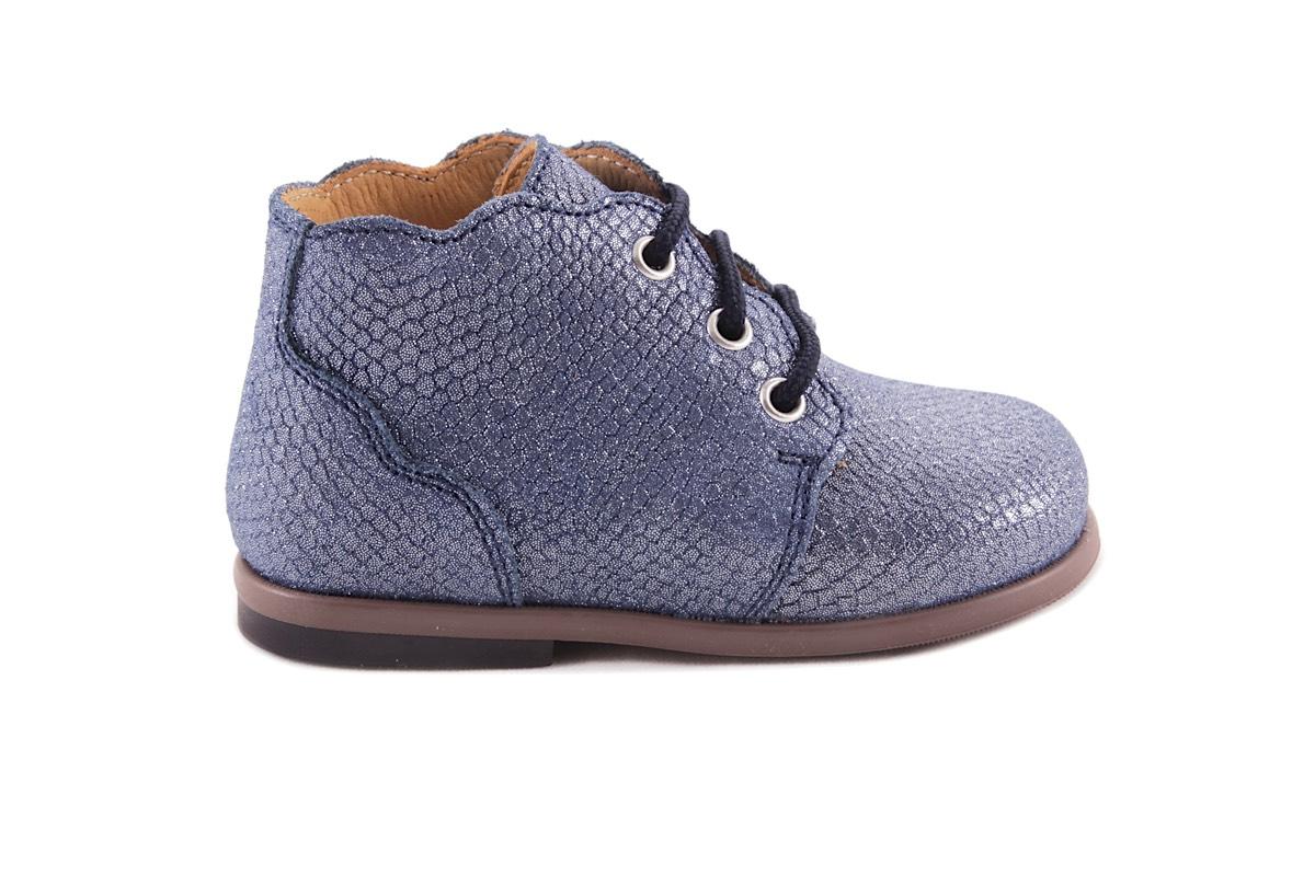 Veterschoen Blauw Blink Schubjes