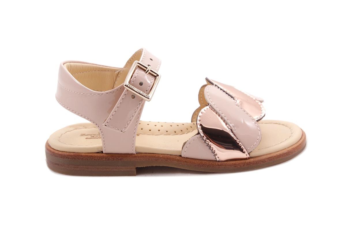 Sandaal Golfjes Vooraan Roze