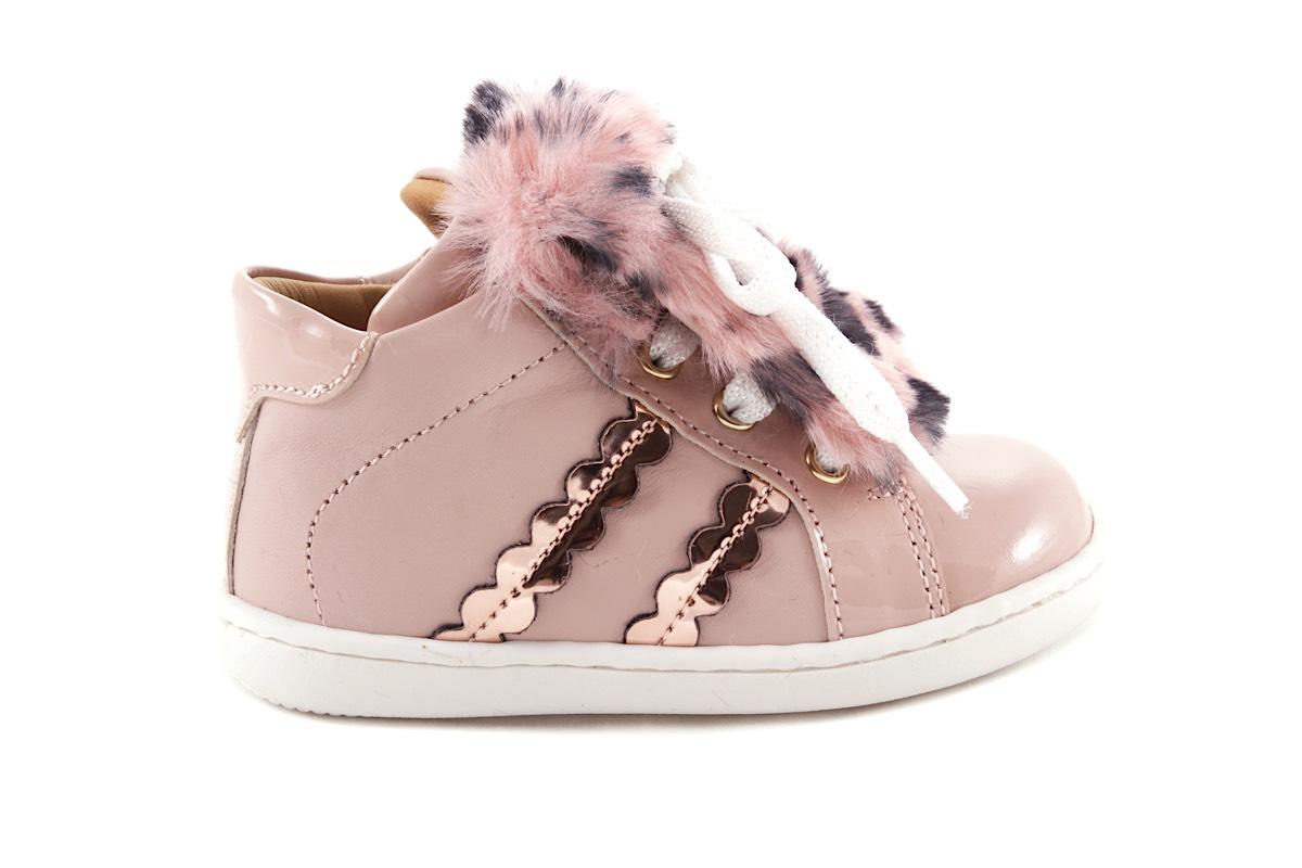 Sneaker Roze Lak Pelsje