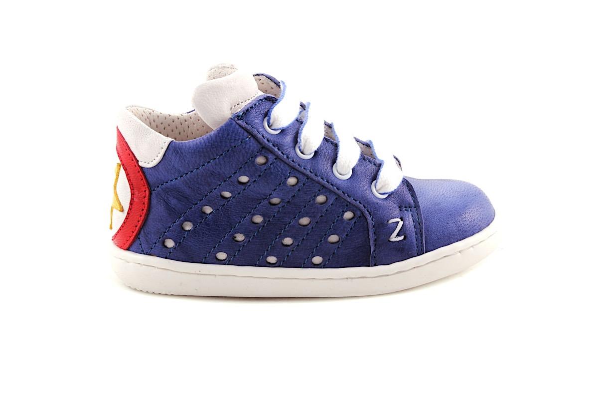Sneaker Donkerblauw Met Gele Ster