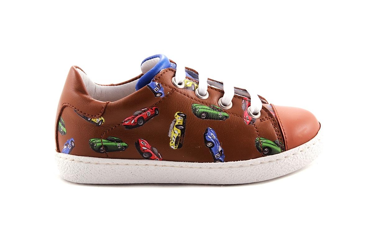 Sneaker Groot Cognac Race