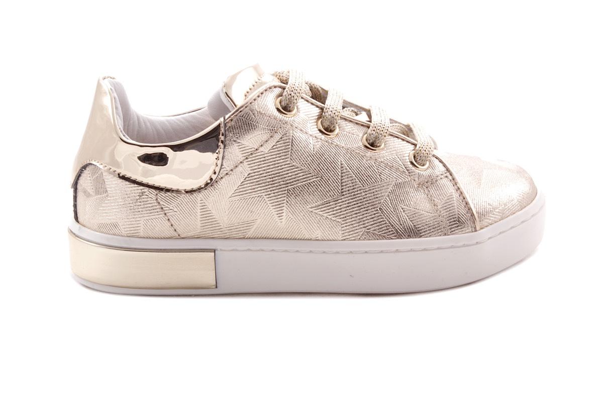 Sneaker Groot Met Detail Zool Gouden Sterrenprint