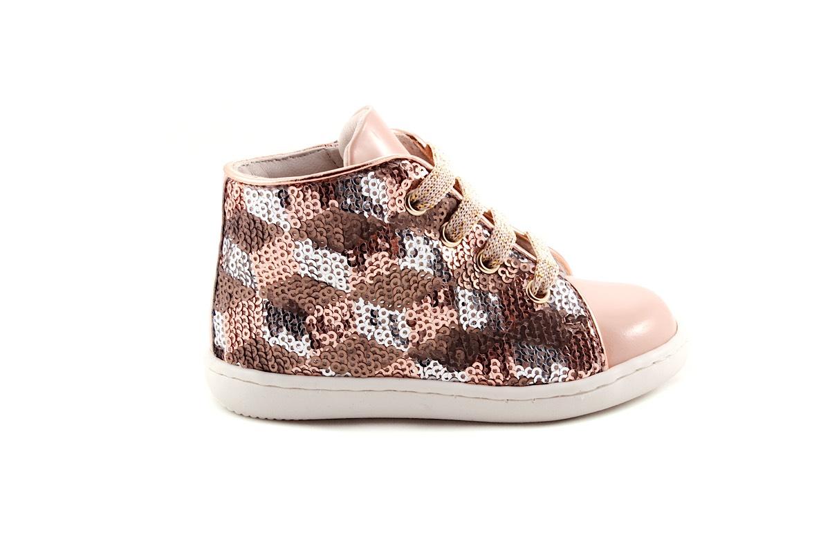 Sneaker Paillettes Oudroze Lak