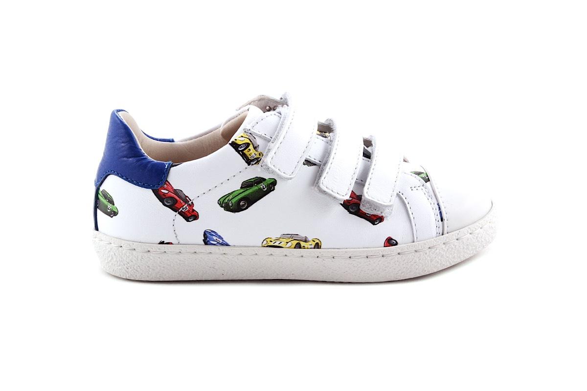 Sneaker Groot Wit Velcro Race