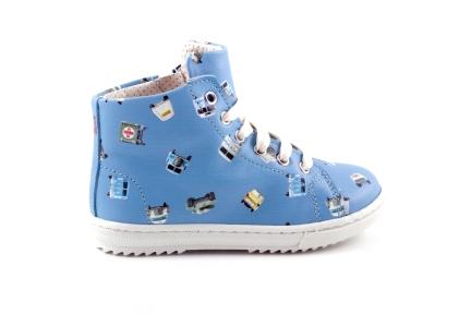 sneaker busjes blauw