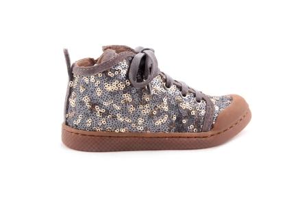 Sneaker Goud Paillettes