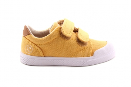 Sneaker Geel Laag Velcro