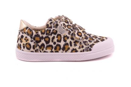 Sneaker Leopard Velcro