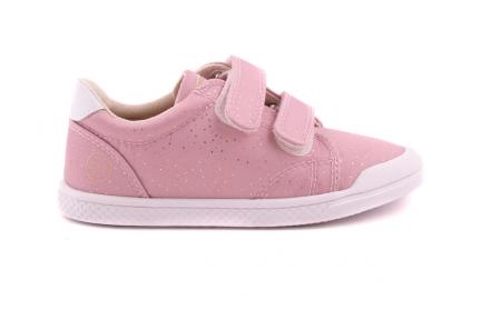 Sneaker Roze Met Gouden Stipjes Velcro