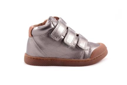 Sneaker Zilver Metallic 3 Velcro