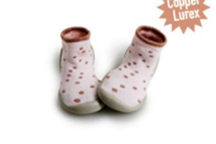 collégien pantoffel tiny lighty dots