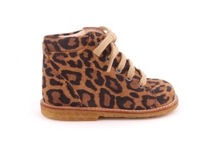 Veterschoen Leopard daim