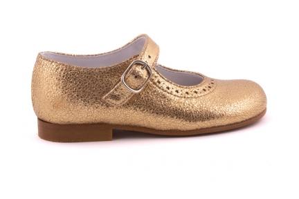 Schoen Gesp Gouden Metallic