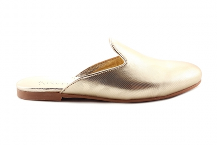 bikey loafer goud