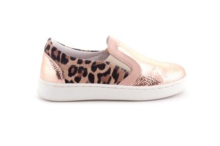 Sneaker Roze Leopard Loafer