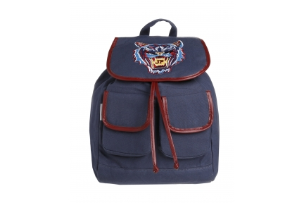 bag pack jack tiger navy