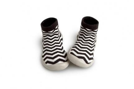 pantoffel zigzag