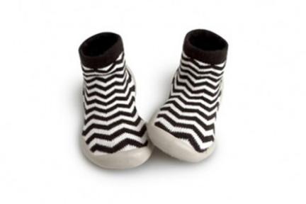Collegien Pantoffel Zigzag