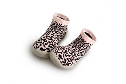 pantoffel sweat leopard