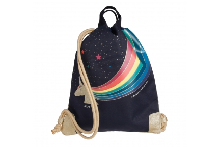 city bag unicorn gold