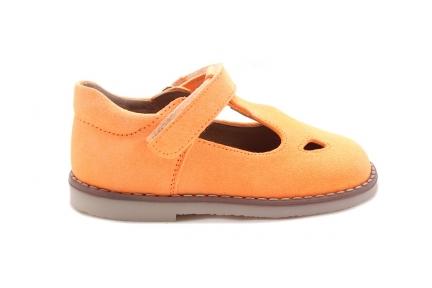 Schoen Gesp Velcro Fluo Oranje