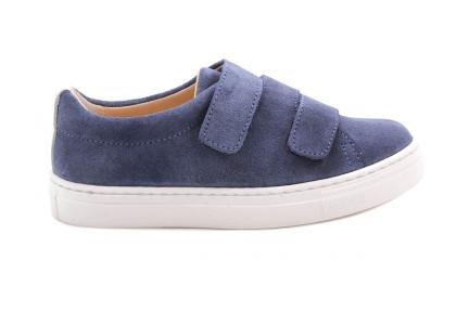 Sneaker Blauw Velours