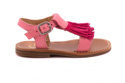 Sandaal Franjes Roze Lichtroze