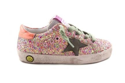 Sneaker Roze Glitter