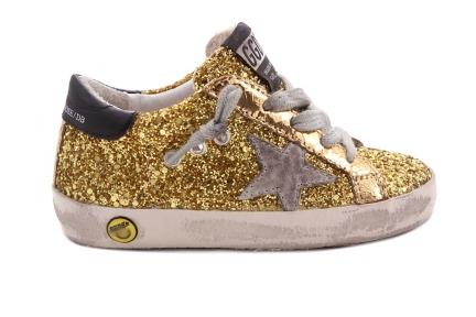 Sneaker Gouden Glitter