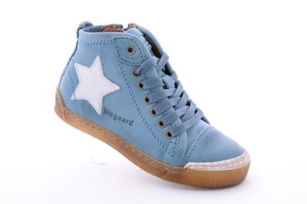 Bisgaard sneaker veter/rits blauw (m28-m39)